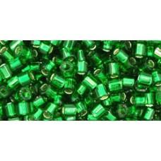 Рубка ТОХО 8/0 Silver-Lined Grass Green (27B) - 250гр