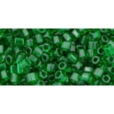 Японская рубка TOHO Beads 8/0 Transparent Grass Green (7B)