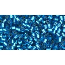 Японская рубка TOHO Beads 11/0 Silver-Lined Aqua (23BD)