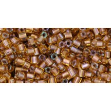 Японская рубка TOHO Beads 11/0 Gold-Lined Rainbow Topaz (278)