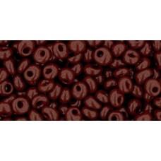 Японский бисер магатама TOHO Beads 3мм Opaque Oxblood (46)