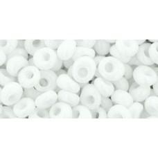 Магатама ТОХО 4мм Opaque White (41) - 250гр
