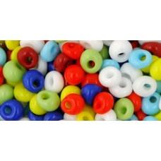 Японский бисер магатама TOHO Beads 4мм Opaque Mix (BM50)