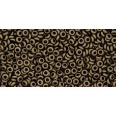 Деми раунд ТОХО 11/0 Frosted Bronze (221F) - 100гр