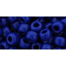 Круглый бисер ТОХО 3/0 Opaque Navy Blue (48) - 250гр