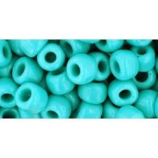 Круглый бисер ТОХО 3/0 Opaque Turquoise (55) - 250гр