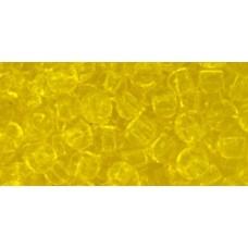 Круглый бисер ТОХО 6/0 Transparent Lemon (12) - 250гр