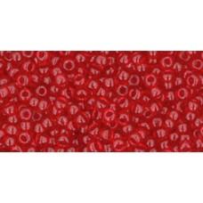 Круглый бисер ТОХО 11/0 Transparent Ruby (5C) - 250гр