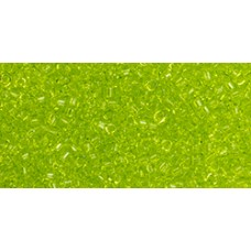Бисер Трежерес ТОХО 11/0 Transparent Lime Green (4) - 100гр