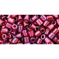 Бисер Трежерес ТОХО 8/0 Gold-Lustered Raspberry (332) - 100гр