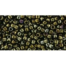 Круглый бисер Такуми ТОХО 11/0 Metallic Iris - Brown (11-83) - 250гр